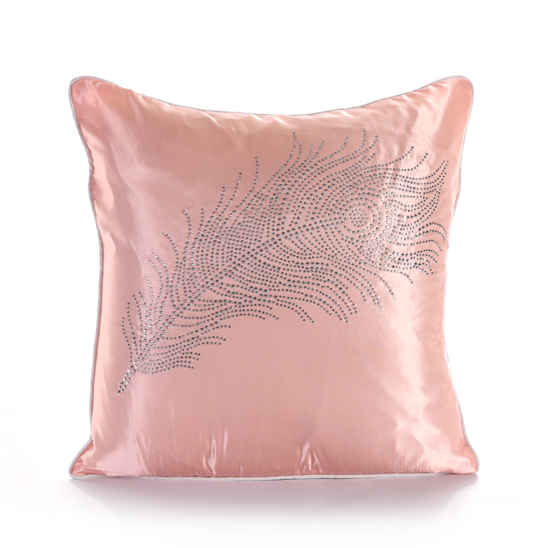 45 45cm super quality environmental pink Feather pure color texture of silk  Cover for sofa. Compare Prices on Pink Bedroom Chairs  Online Shopping Buy Low
