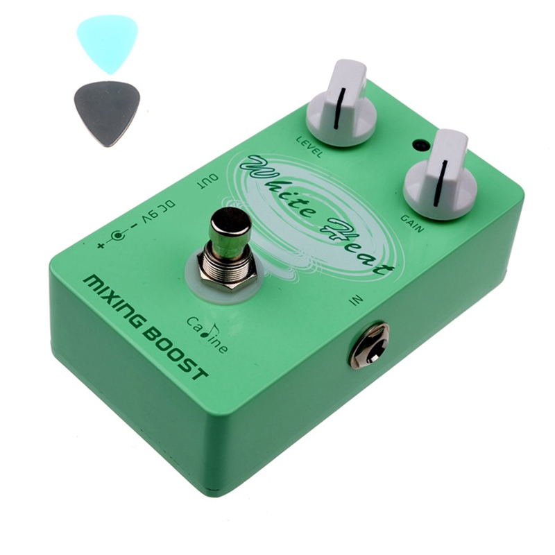 Caline CP-29 Mixing Boost Guitar Effect Pedal True Bypass Design CP29 Guitar Pedals Aluminum Alloy Housing Guitar Accessories aroma adl 1 aluminum alloy housing true bypass delay electric guitar effect pedal for guitarists hot guitar accessories