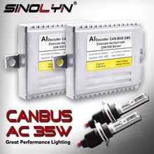 EMC ksenonowe błąd Canbus darmowa zestaw do przeróbki na ksenon D2S H7 H1 H3 H11 9005 D2H AC balast dla reflektorów światła przeciwmgielne 4300K 6000K 8000K