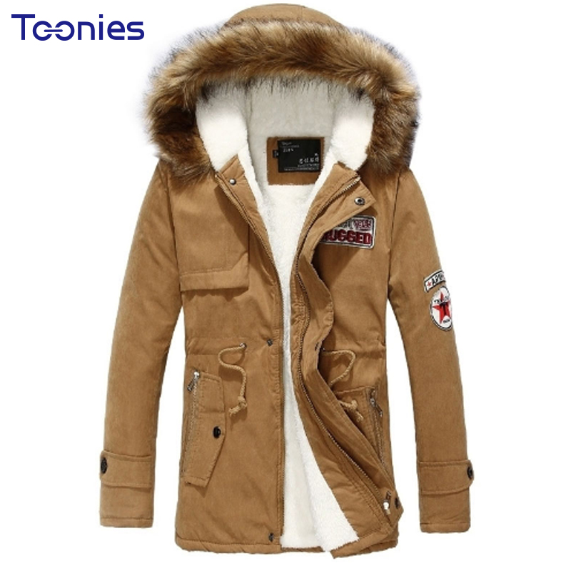 2018 New Fashion Hooded Winter Jacket Men Thick Warm Cotton Parkas Men Coat Outerwear Zipper Winter Jackets Mens Parka Coats new pure color hooded cotton padded clothing jackets business long thick winter coat men solid parka fashion overcoat outerwear