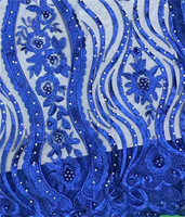 Pure color graceful pattern with beads stones French Net Lace 3GF13,Free Shipping and Cheap Price Nigeria organza Lace Fabric