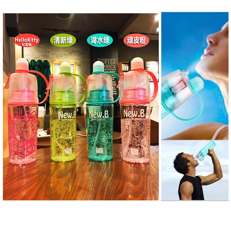 Promotion 400 600ml Creative Spray Sport Water font b Bottle b font font b Cycling b