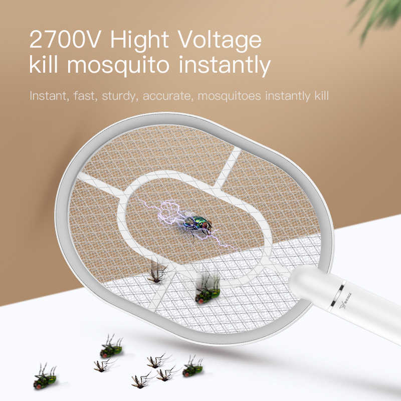 Listrik Terbang Raket Nyamuk Gelas Mug Listrik Pembunuh Pemukul Lalat Isi Ulang Listrik Pemukul Lalat USB Mosquito Bug Zapper