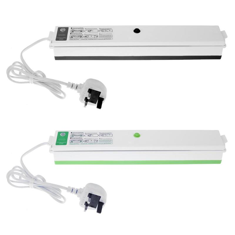 Electric Household Food Vacuum Sealer Packaging Machine Film Sealer Packer Family Kitchen Appliance 220 V/110 V (UK)