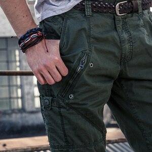 Image 3 - 2019 ใหม่ Multi   Pocket ทหารกางเกงหลวมกางเกงสไตล์ผู้ชาย Joggers กางเกงยุทธวิธี Casual แฟชั่นกางเกงชาย