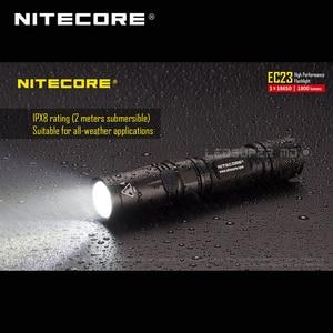 Image 4 - 1800 Lumens Nitecore EC23 Cree XHP35 Hd E2 Led Hoge Prestaties Zaklamp Met Batterij (IMR18650 2500Mah 35A)