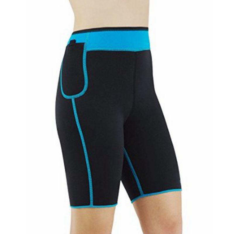 Wechery Neoprene Control Pants Slimming Shorts Sweat for Weight Loss Body Shaper Panty Fajas Butt Lifter Slim Shaperwear Sheath