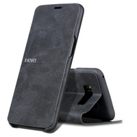 X Level Leather Phone Case For Samsung Galaxy S8 S8 Plus Ultra Thin Flip Full Protective