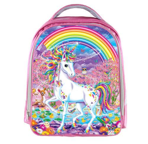 13 Inch Cartoon Unicorn Backpack For Girls Children School Bags Kawaii  Kindergarten Schoolbag Pink