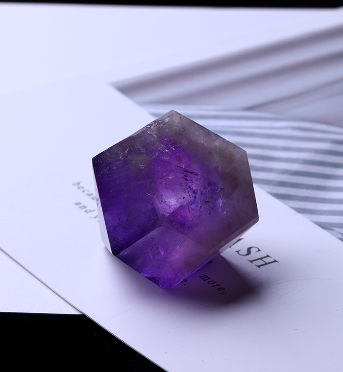 1PC Natural Amethyst Wand Quartz Crystal Repair Crystal Stone accessories Home Decor 18