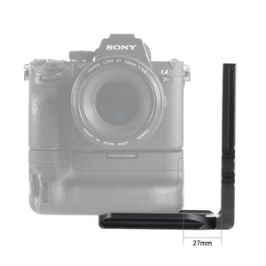 Image 5 - SmallRig L Bracket for Sony A7III/A7RIII Camera and Battery Grip Quick Release Half Cage With Top Plate+L Plate  2341