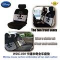 Accesorios del coche de dibujos animados de mickey bordado toda cojín del asiento de coche WDC-039