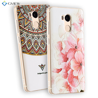 Soft Ultra Thin TPU 3D Relief Painting Back Cover Case For Xiaomi Redmi 4 Pro 5