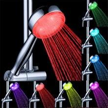 LD8008-A18 воды Glow душ Форсунка с 7 видов цветов постепенно Тип вспышки