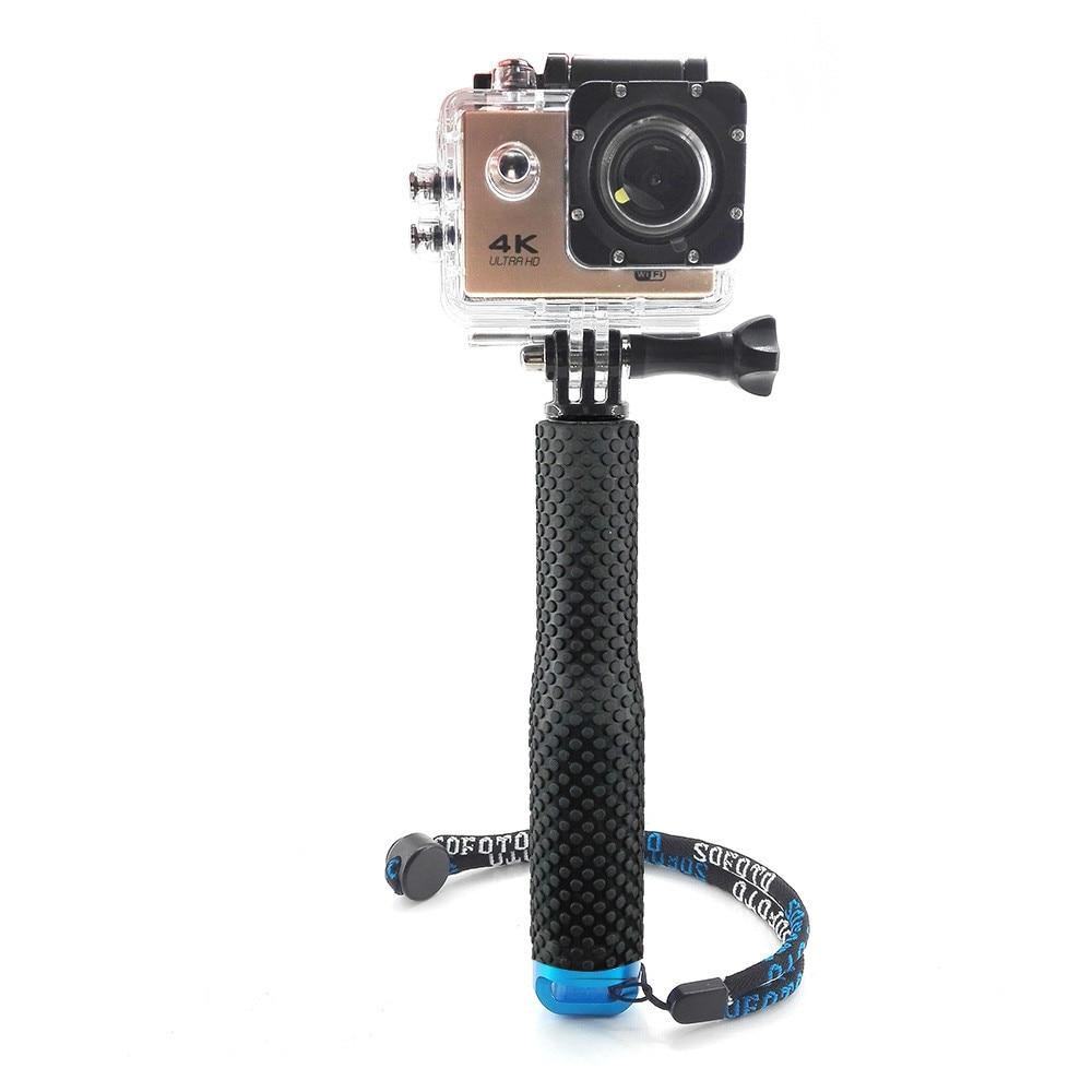 19 Inch Telescopic Handheld Selfie Monopod Extendable Pole Stick for Gopro Hero 4 3 Xiaomi Yi SJCAM SJ4000 Action Camera