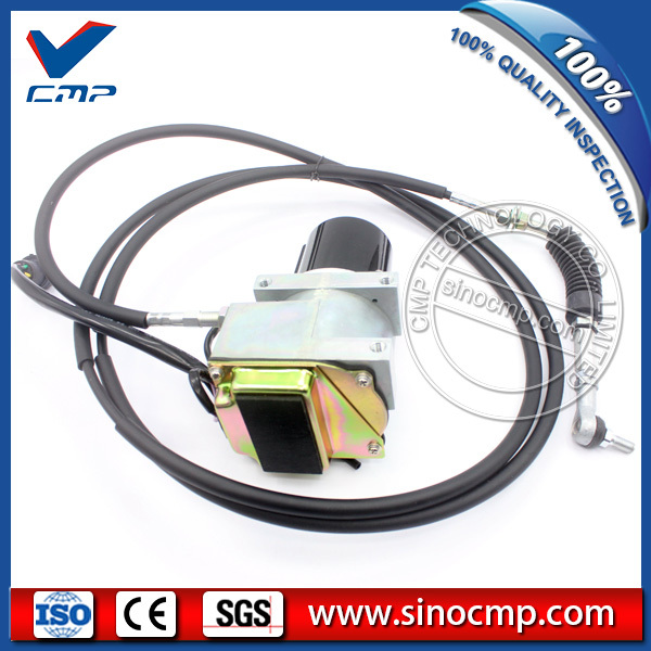 105 0092 E320L 320L Excavator Speed Gas Accelerator Motor with Single Cable
