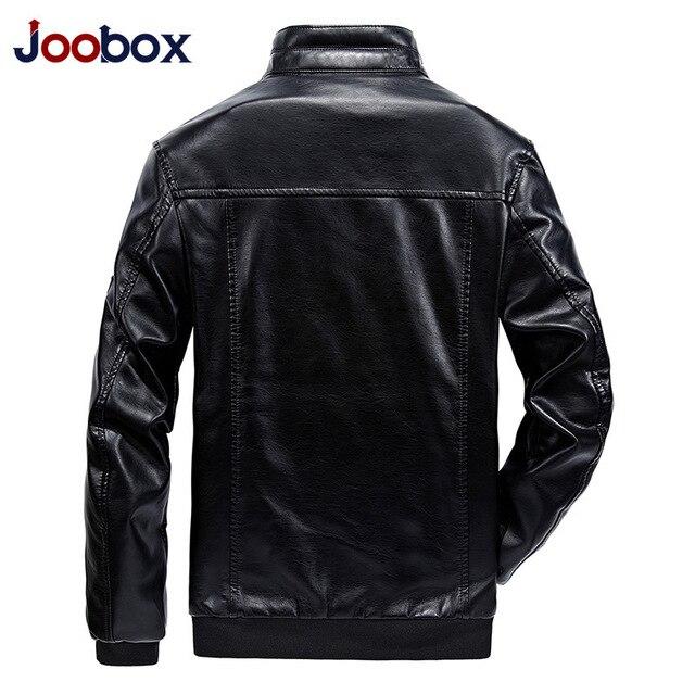 Winter Casual Leather Jaket Men Deri Mont Erkek Faux Jackets Slim Fit Coats Men Baseball Uniform Jaqueta De Couro Masculina 4
