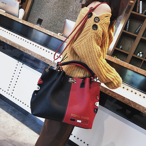 Image 5 - Luxury Handbags Women Bags Designer Womens Panelled Message Bag Female Leather Crossbody Bag Lock Shoulder Bags For Women 2020