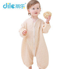 Dile Baby Sleeping Bag For Spring And Summer Baby Cent Leg Sleepsacks Comfortable Soft Toddlers Sleeping Bags Anti-falling Quilt
