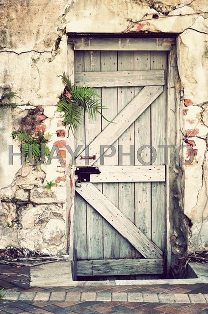 Art Fabric Photography Backdrop Customize Newborns Backdrop Digital  Printing Background Old Barn Door Seamless D