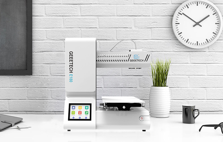 Geeetech E180 3D Printer With Full Colour Touch Screen And Wifi Connectivity 2