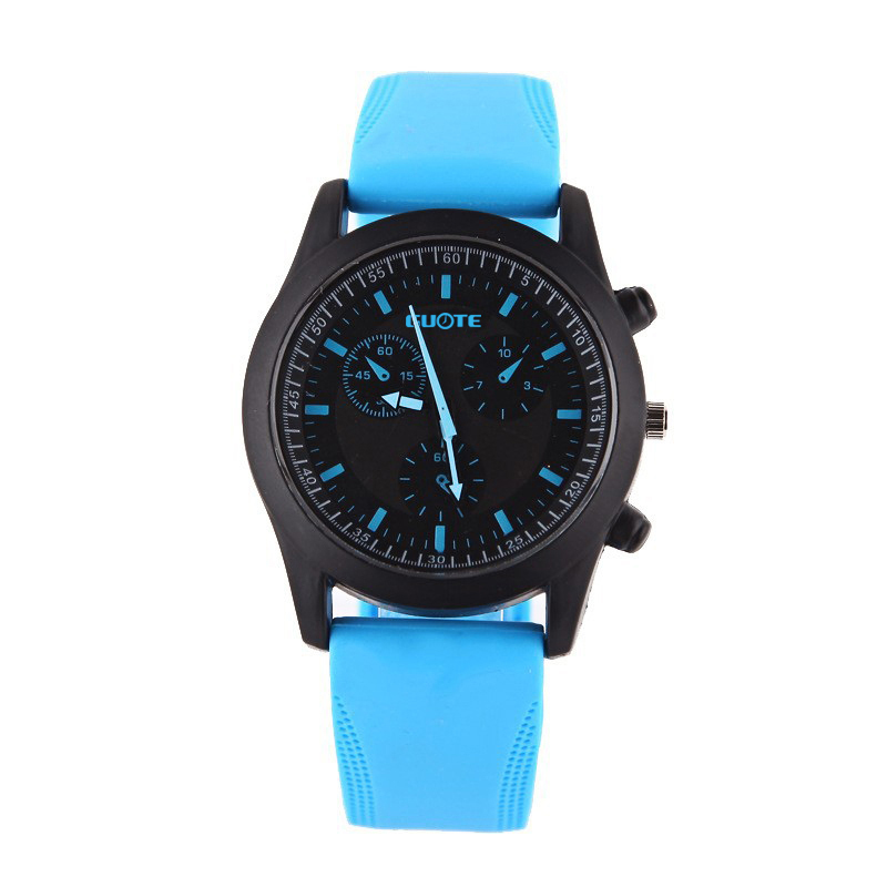 New Fashion Sport Casual Watch Men Women Pure Color Jelly Silicone Watches Students Elegant Wristwatches  Clock Quartz Watch