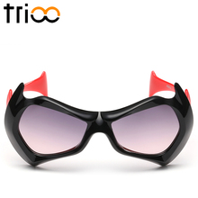 TRIOO Cool Sunglasses Children For Boy Colorful Sun Glasses Kids High Quality Gradient Lens Shades Oculos Girl UV400 Protection
