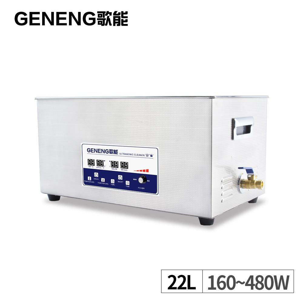 Digital Ultrasonic Cleaner Bath Machine 22L Power Adjustable Mainboard Auto Car Parts Mold Degreasing Hardware Washing Tank