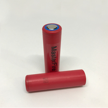 Wholesale MasterFire 100% Original Sanyo 3.7V 18650 NCR18650GA 3500mAh 10A continuous discharge Rechargeable Lithium Battery