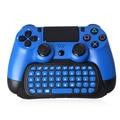 Bluetooth 2.4G Inalámbrico Chatpad Teclado Mensaje Mini Consolas de juegos Estilo Original para PS4 PS4 Controlador delgado