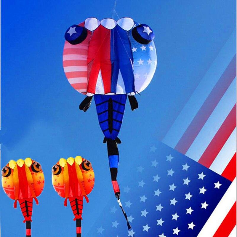 Livraison gratuite haute qualité 8 13sq. m grand têtard cerfs-volants doux en nylon tissu ripstop gonflable cerf-volant volant latawiec vlieger aigle