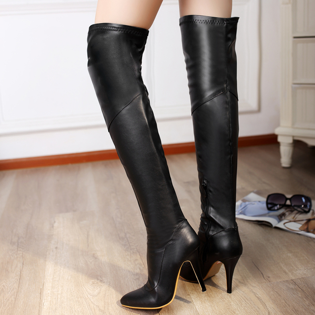 Aliexpress.com : Buy Shoe'N Tale Autumn Winter Boots Over the knee ...