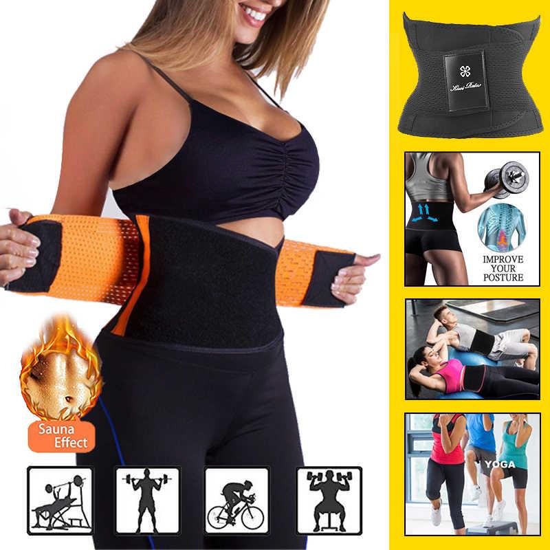 7394cd08d1 ... hot shapers women slimming body shaper waist Belt girdles Firm Control  Waist trainer corsets plus size ...