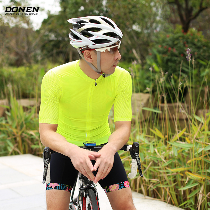 DONEN ELITE MEN Short Sleeve Cycling Jersey lightweight Bicycle jersey Maillot Ropa Ciclismo Racing Bike Clothes