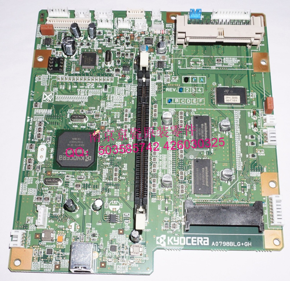 ФОТО New Original Kyocera PWB ASSY MAIN for:P2035D