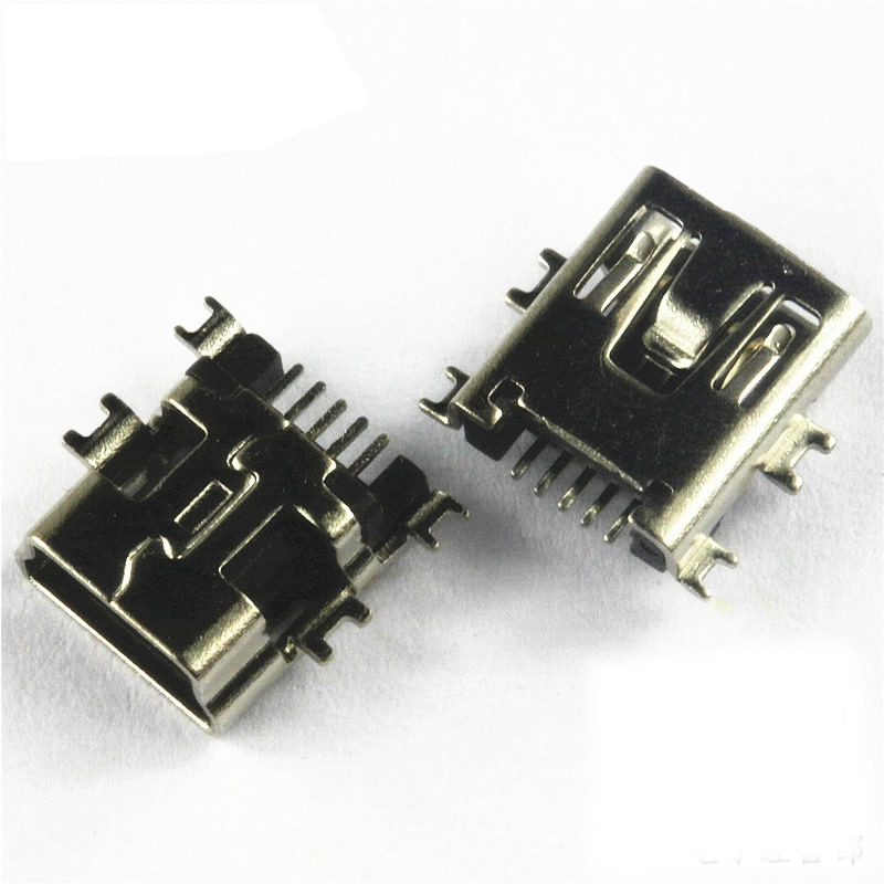 100 pcs 3 5mm female smd audio connector 3 pin stereo phone jack 10pcs lot mini usb type b smd female socket 5 pin 5 pin jack