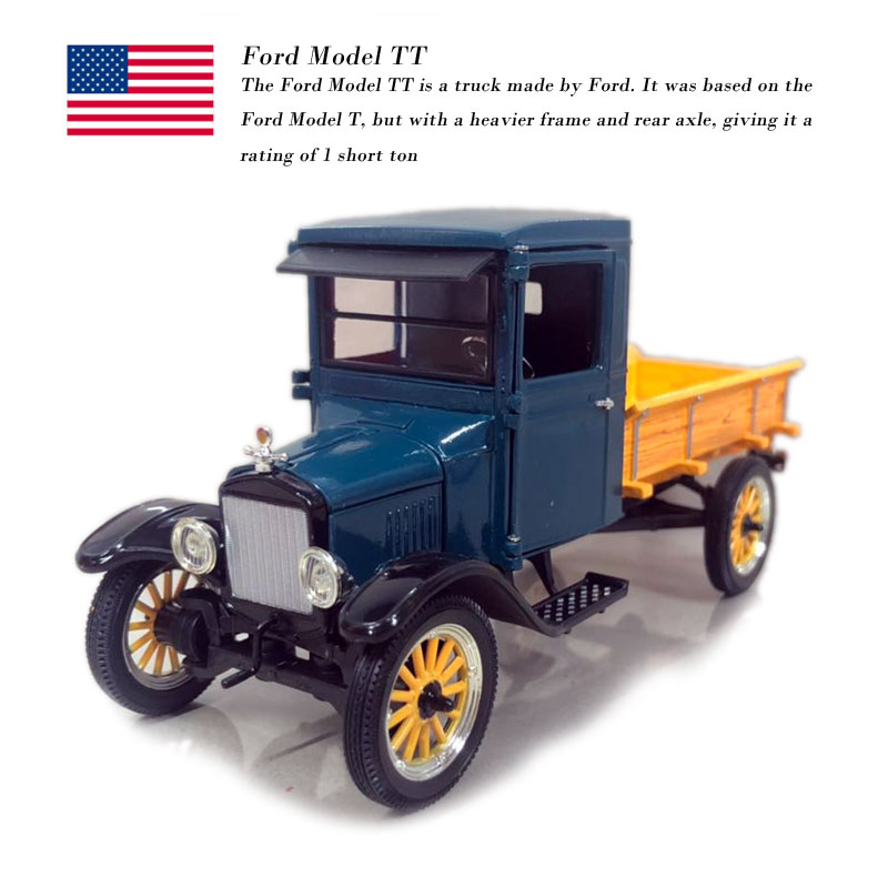 Signature 1/32 Scale Vintage Car USA Ford TT Pick-Up Diecast Metal Car Model Toy For Collection/Gift/Decoration