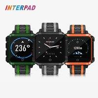 Interpad Android 6,0 4G Смарт часы Для мужчин mtk6737 четыре ядра наручные часы 1 ГБ 8 ГБ 5,0 МП WI FI gps Smartwatch для Android iOS Телефон