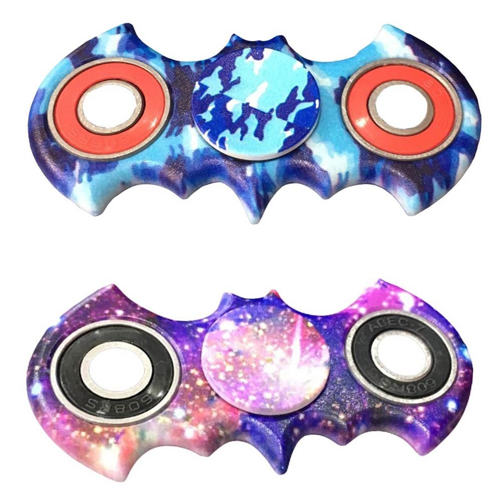 New Spinner Injection Molded Bat Style Shaped Figit Finger Spinner Anti stress EDC ADHD font b