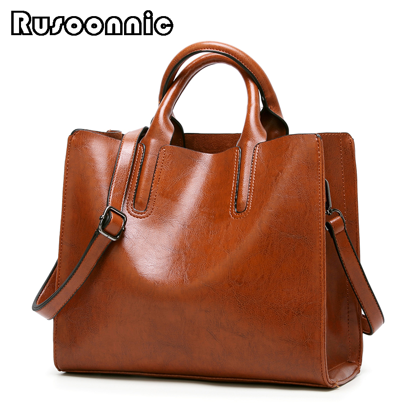 Bolso Mujer Hobos Ladies Leather Handbags Shoulder Bags For Woman  Casual Tote Bag
