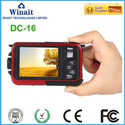 24MP Dual Screen Professional Digital Camera Waterproof Cameras 1080P HD Camera Digital Mini Cam TF Card Slot Macro Shooting