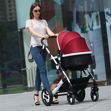 Strollers can sit lie folded shock Ultraportability summer bb baby child children high landscape strolle r