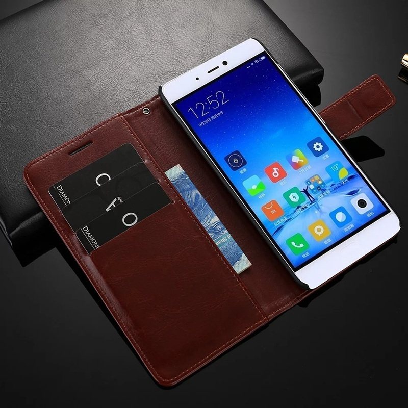 Phone Case For Xiaomi mi 5s mi 5s Plus Wallet Ultra Thin Original Flip Case For Xiaomi mi5s Plus 5 7 inch Slim Cover Case Fundas in Flip Cases from Cellphones Telecommunications