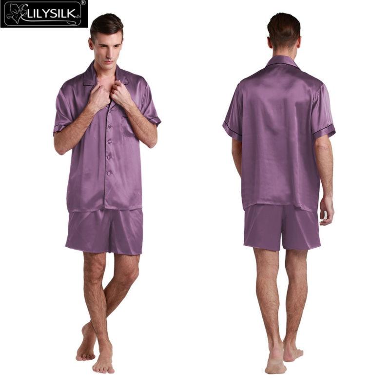 1000-violet-22-momme-contrast-trim-short-silk-pyjamas-set