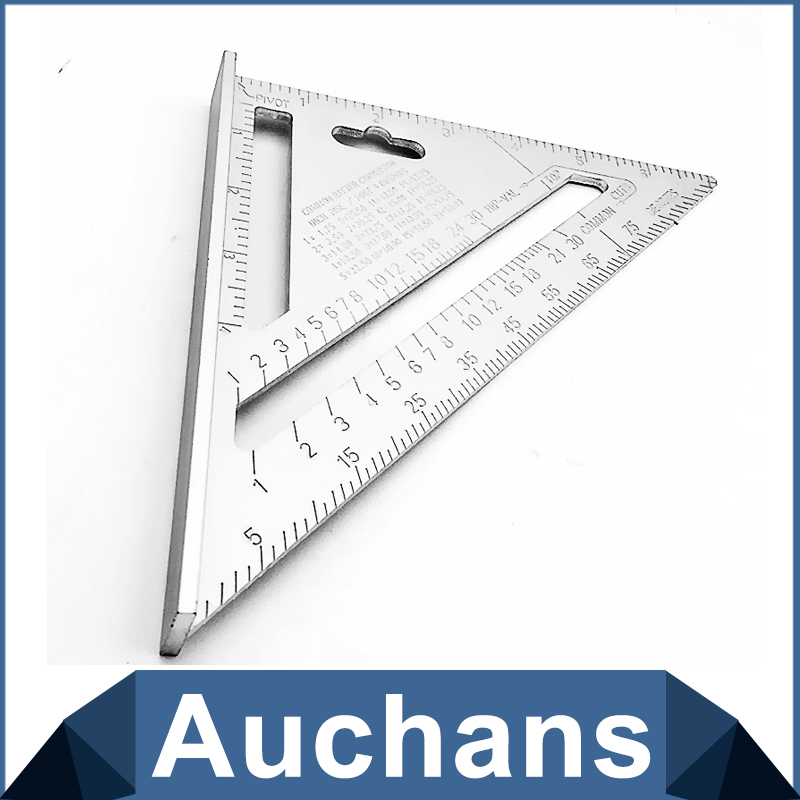 7inch Silver Aluminum Alloy Speed Square Roofing Triangle Angle Protractor  Try Square Carpenteru0027s Measuring La Sc 1 St AliExpress.com