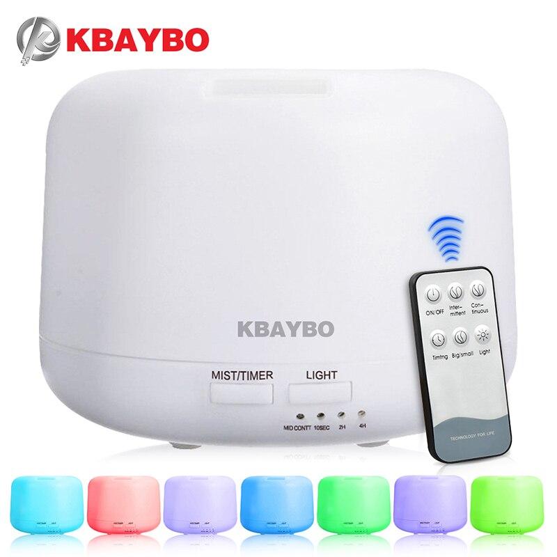 Fernbedienung 300 ML Ultraschall Aroma Luftbefeuchter Mit 7 Farbe Leuchtet Elektrischen Aromatherapie Ätherisches Öl Aroma Diffusor