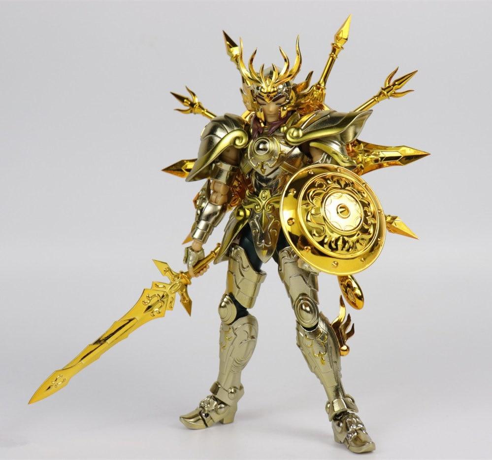 Image 2 - CS Model Saint Seiya Cloth Myth Soul of God SOG EX Gold Libra Dohko metal Cloth SC014Action & Toy Figures   -