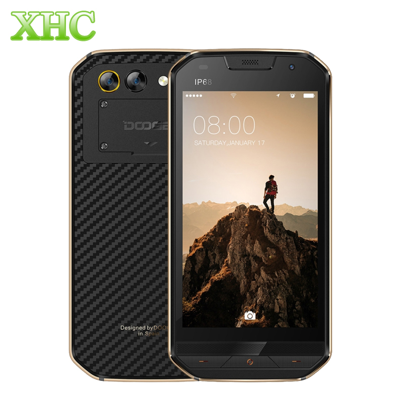 DOOGEE S30 2 GB 16 GB Android 7.0 Smartphone IP68 Wasserdicht 5,0 ''Fingerprint 5 V/2A Schnellladung Quad Cor Dual SIM 4G Mobile telefon