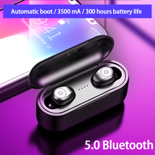 Binaural Call Bluetooth Earphones True Wireless Earbuds TWS 5.0 Sports Earphones Stereo Bass Headset Noise Cancelling for Phones