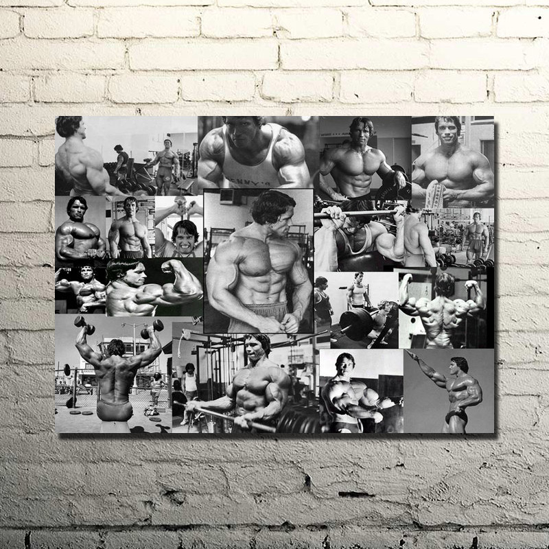 Bodybuilding Motivational Quote Art Silk Poster Print 13×18 inches Gym Room Decor Fitness Sports